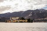 View of Lago d'Orta, Piedmont, Italy