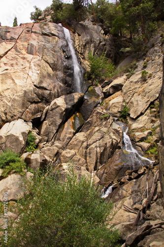 Waterfall in Kings Canyon NP in California in the USA  - 192726695