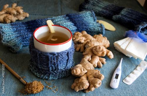 Ingwertee, die bekömmliche Hilfe bei Erkältung