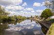 roleta: River Severn Worcester England Spring
