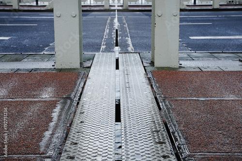 Papiers peints Voies ferrées Bridge in Rotterdam