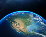 Earth from space North America - 192751815