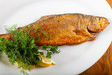 Roasted trout - 192753082