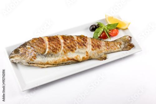 juicy piece of fish - 192762816