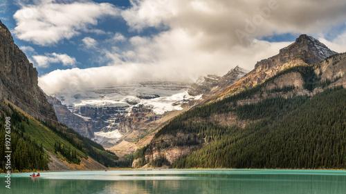 Foto op Plexiglas Beige Autumn at Lake Louise - Banff National Park