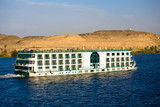 Cruising down the Nile in a River Cruise Ship, Egypt - 192776656