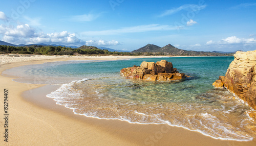 Cala Sinzias, Sardegna