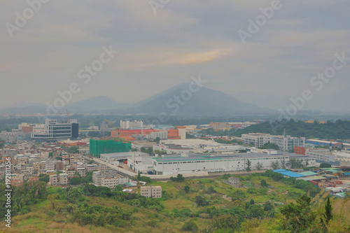 Papiers peints Vieux rose Industrial Centre at Wang Chau