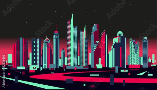 Fototapeta Bangkok skyline