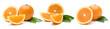 canvas print picture - Orangen
