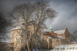 fortress of Akershus - a castle in Oslo - 192851624