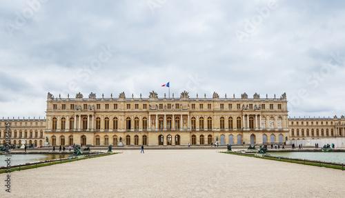 Foto Murales  Garden side of Palais Versailles, Paris, France