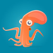 funny cartoon octopus - 192870020