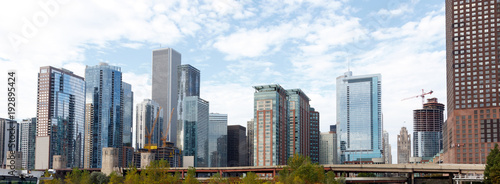Foto op Canvas Chicago Panorama of skyline of Chicago, Illinois