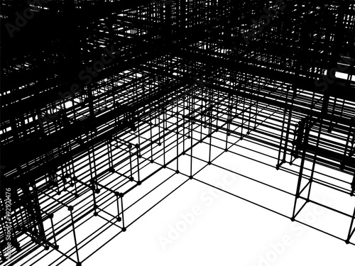 Structure Construction In Development Vector  - 192921476