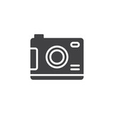 Digital camera vector icon. filled flat sign for mobile concept and web design. Photo simple solid icon. Symbol, logo illustration. Pixel perfect vector graphics - 192928029