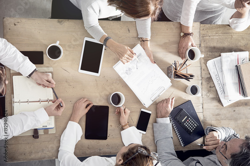 Working business meeting concept