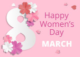 Womens Day origami - 192957487