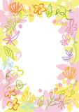 花フレーム 花 - 192961475