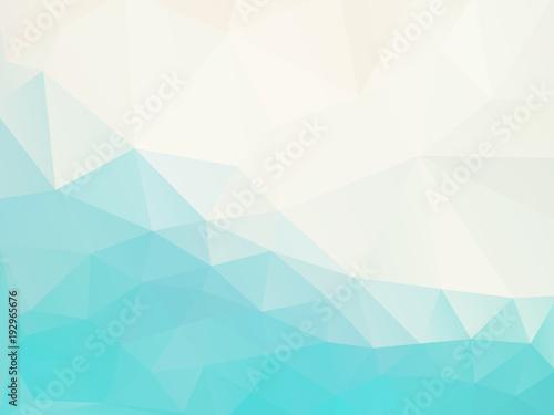 niebieski kolor mozaiki geometrycznej tło