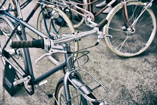 Plexiglas Fiets Vintage bicycle
