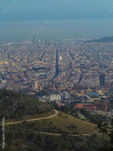 Foto op Canvas Barcelona Ciudad de Barcelona