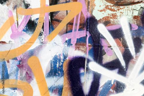 Fotobehang Graffiti Graffiti1902a