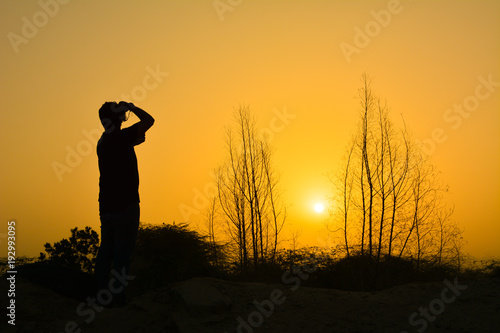 Melon Silhouette photographer