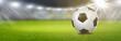 Quadro Fußball im Stadion