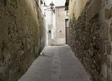 Alley in village
