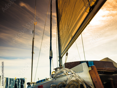 yachting-on-sail-boat-during-sunny-weather