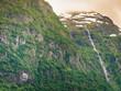Quadro Waterfalls innorwegian mountains