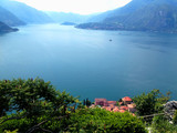 Beautiful view of the lake on the sunny day. Italy. - 193026430