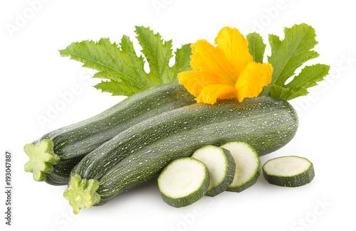 Fresh zucchini © Viktar Malyshchyts