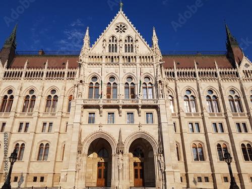 Fotobehang Boedapest Budapest,capital y ciudad más poblada de Hungría en Europa