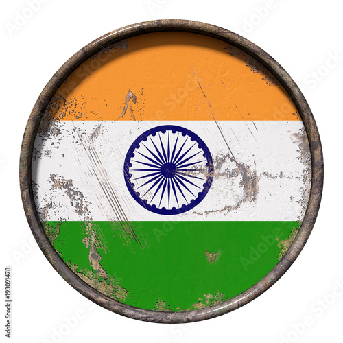 Old India flag
