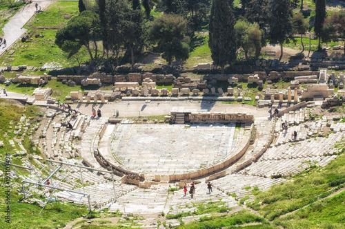 Foto op Aluminium Athene Theatre of Dionysus under Acropolis in Athens,Greece