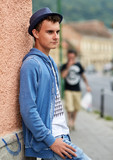Portrait of a teenager urban style - 193110476