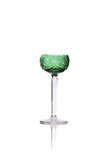 Antique crystal liqueur chalice isolated on white background - 193119223