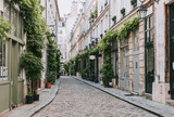 Cozy street in Paris, France - 193122610