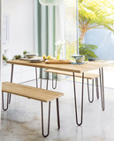 Dining room with table interior - 193127435