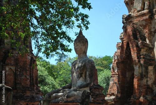 Staande foto Boeddha Ayutthaya