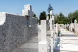 Cemetery Gravestones - 193132455