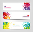 Abstract Banners - Geometric Shapes, Website Headers - 193139860