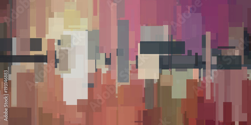 Colorful abstract pattern - 193146883