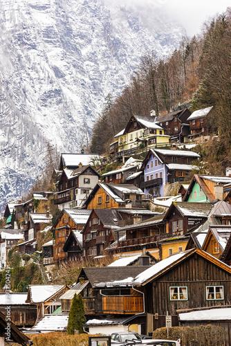 Staande foto Bergen Hallstatt Austria