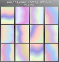 Pastel Gradient  Texture Set  Sticker