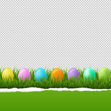 Happy Easter Border Transparent Background