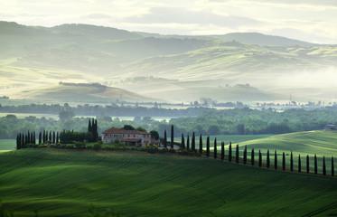 Tuscany countryside panorama, Italy