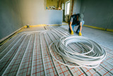 Pipefitter installing system of heating. Repair in the apartment - 193167884